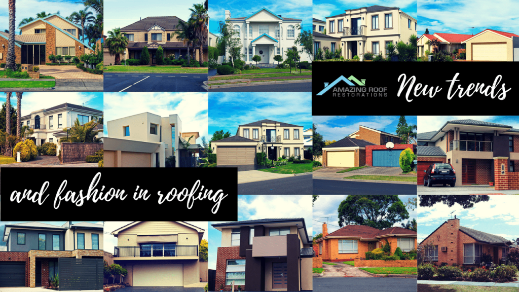 New trends and fashion in roofing