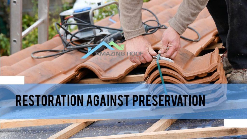 Should Century-old Homes have Roof Restoration? -