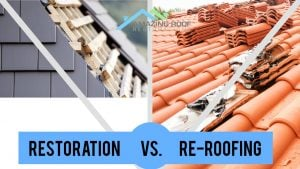 Restoration vs. Re-roofing