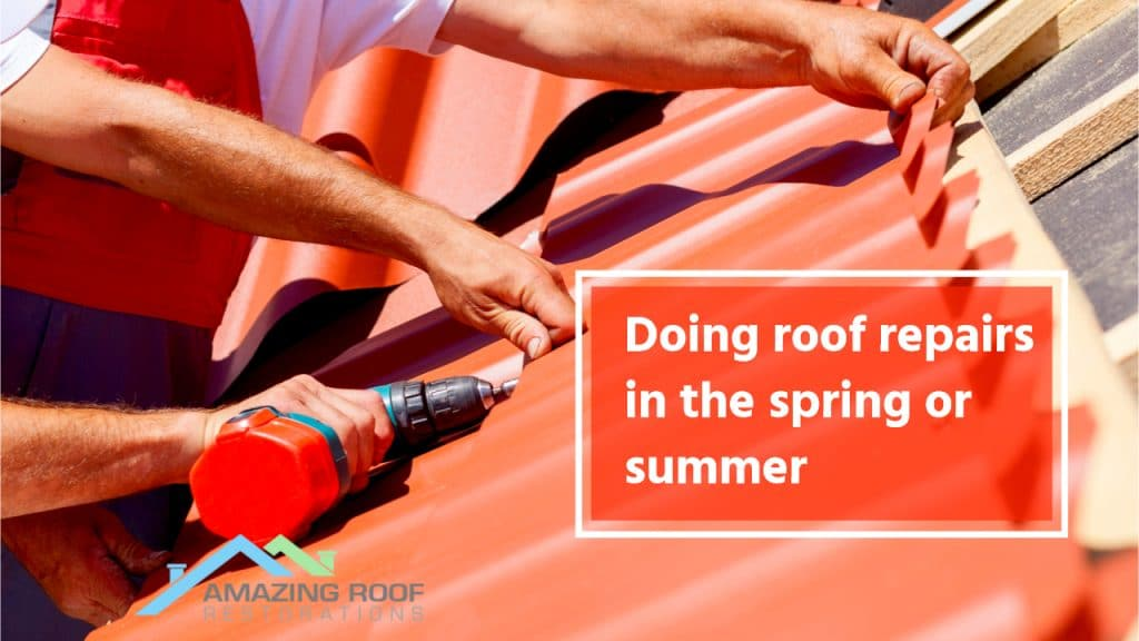 Best Season for Roof Repairs -