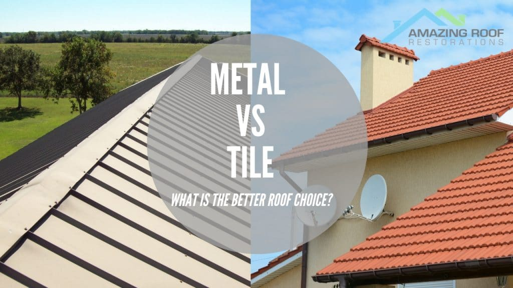 Metal vs. Tile: What is the Better Roof Choice?