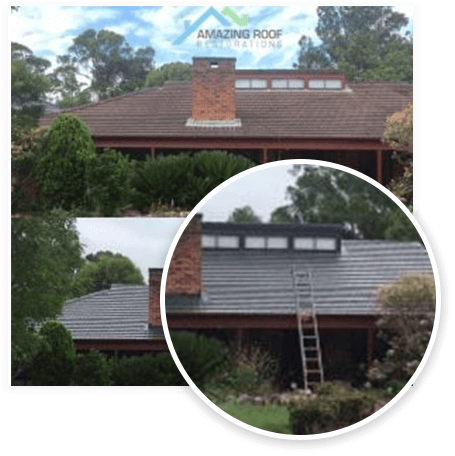 Roof Painting, Amazing Roof Restoration