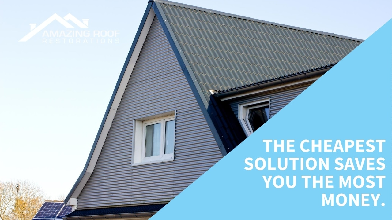 The cheapest solution saves you the most money.