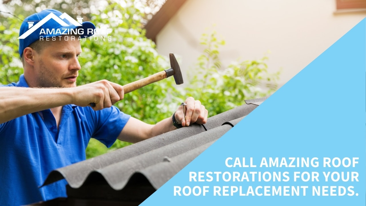 Call Amazing Roof Restorations for your roof replacement needs.