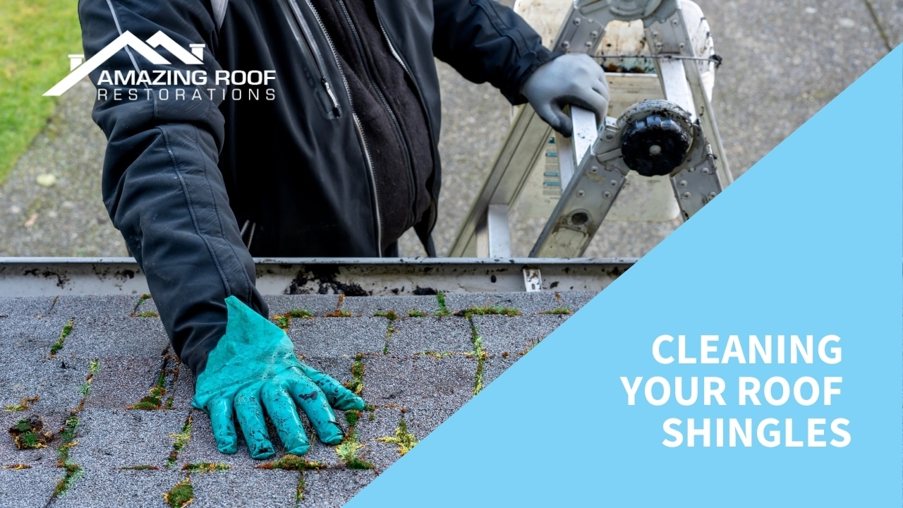 Cleaning Your Roof Shingles